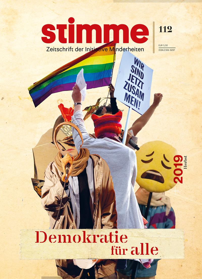 Stimme Cover #112 Demokratie für alle